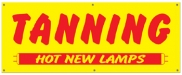Hot New Lamps Banner 7'W x 3'H